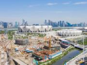 信达中心|杭州壹号院商业综合体地下空间主体施工完成