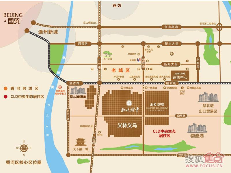 北京東郡交通圖_北京東郡位置_北京東郡地鐵公交線路圖片