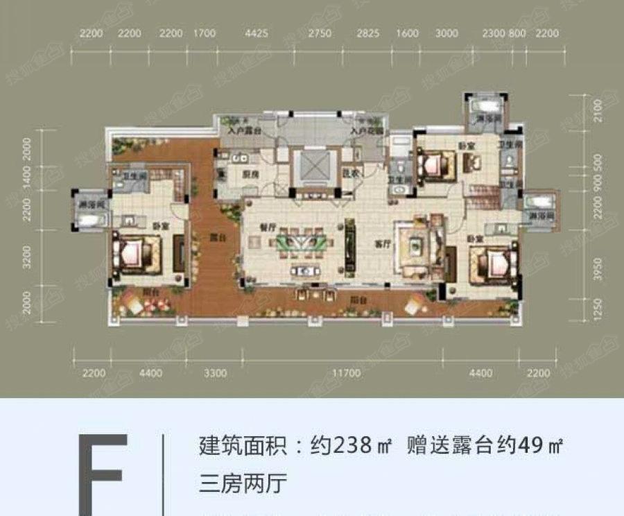 中海神州半岛五期泰悦居洋房f_中海神州半岛户型图