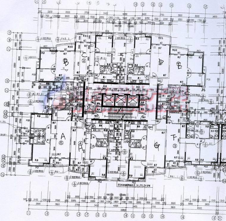 华景新城陶然庭苑a1栋4-32层平面_华景新城户型图
