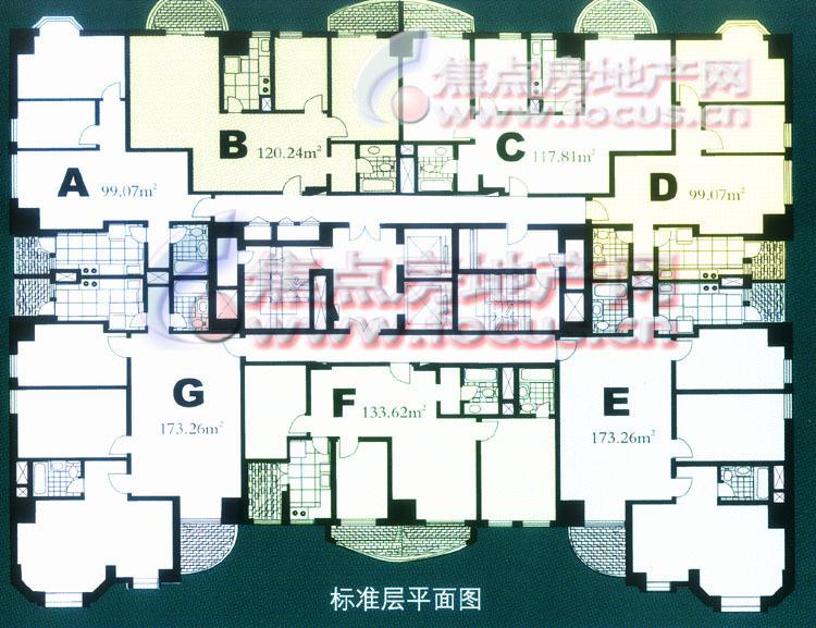 锦湖园公寓平面图