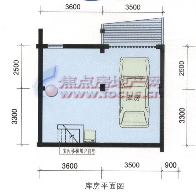 三江鸣翠蓝湾l3户型220平方米车库平面图