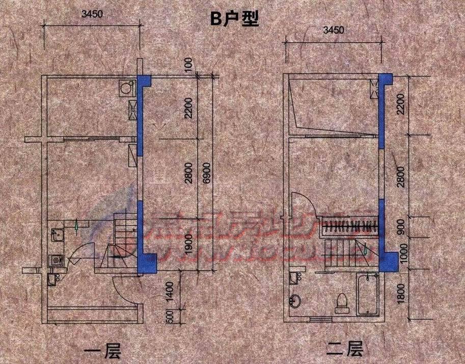 公寓电路系统图