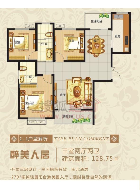 龙城国际c1户型图