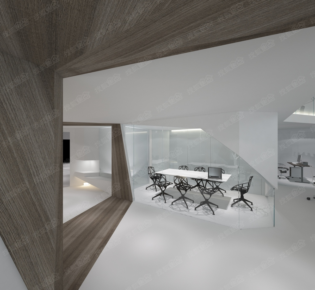 欧雅公馆04房约55平米办公户型_欧雅公馆户型图-中山