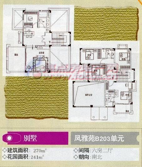 碧桂园凤凰城凤雅苑b203单元平面户型