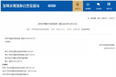深圳房产:深圳存量442住宅,新年置业必有你的坐标!