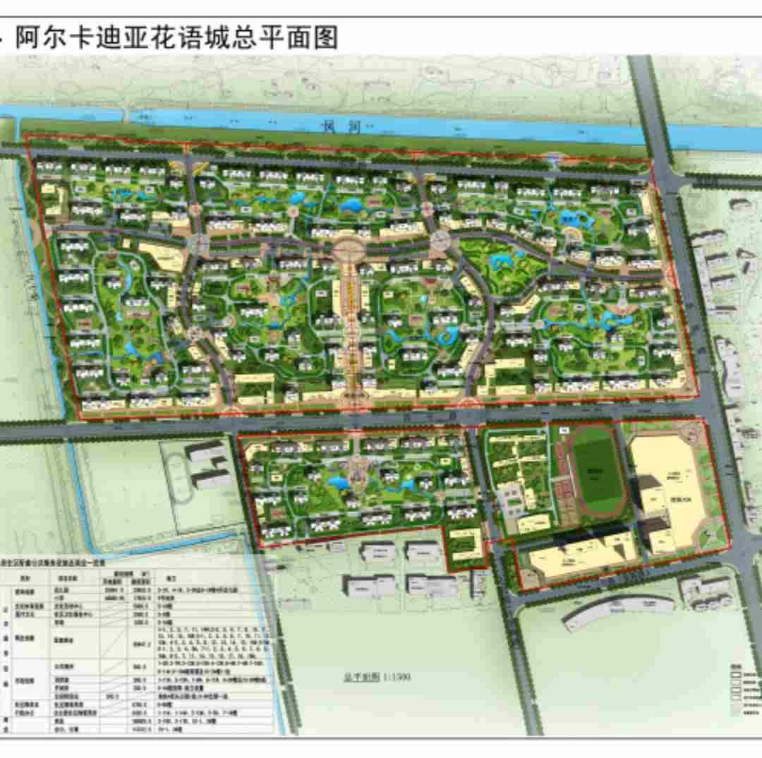 荣盛阿尔卡迪亚花语城直播封面