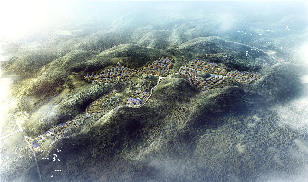 黄山城市别墅的开山之作是什么样子?