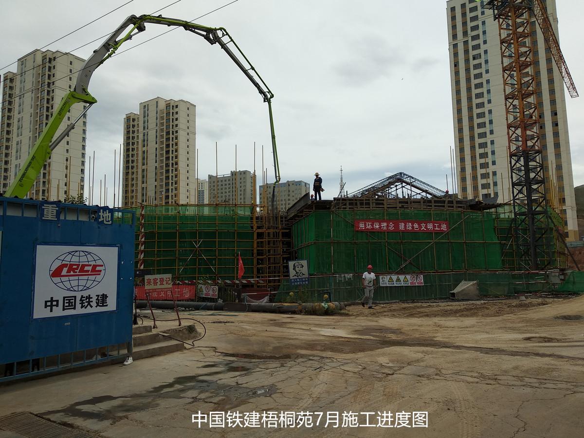 中国铁建梧桐苑项目预计2021年5月15日完工