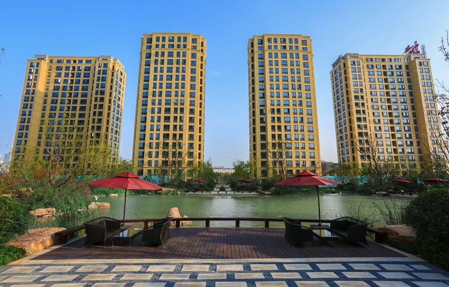 徒骇河畔 法式园林:民生绿城·百合新城打造高端品质美宅