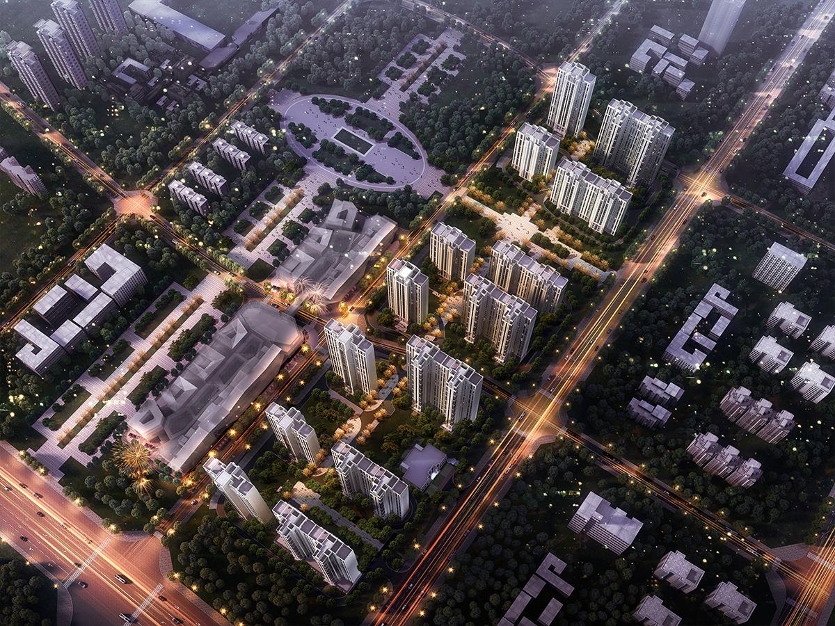 春醒会展 新疆中海·九号公馆项目盛大开工