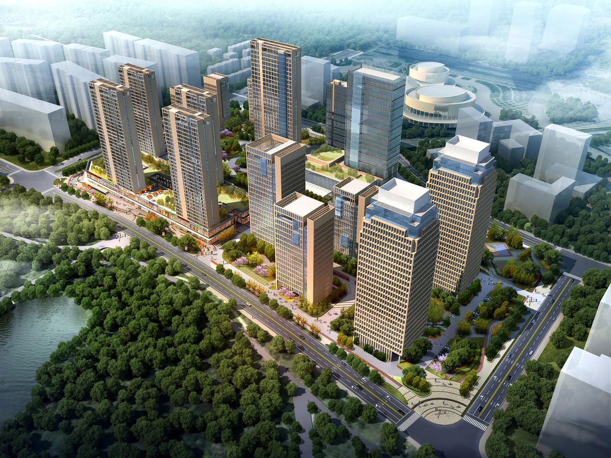 博雅金融广场城市阔景大宅 占据海湖新区核心区域
