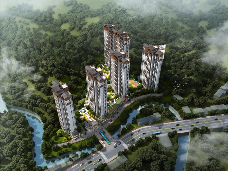 金麟府一期1#楼预售许可证获批 入市面积1.2万方