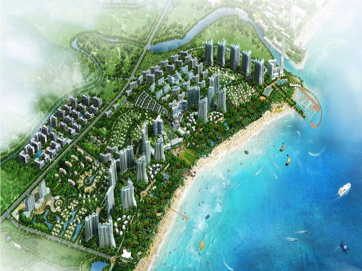 融创金成博鳌金湾在售:瞰海高层 均价24000元/㎡