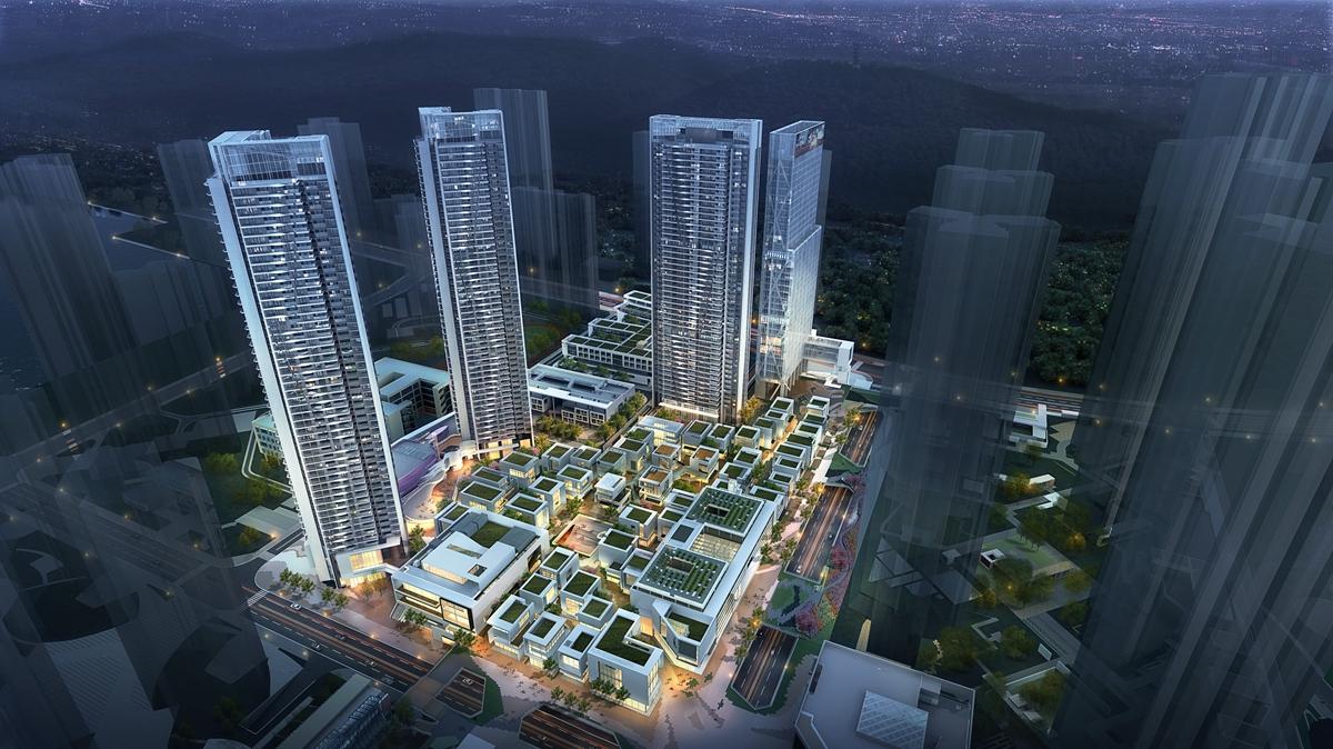【半岛城邦•璞域】规划有3栋743套住宅 全部带装修交付
