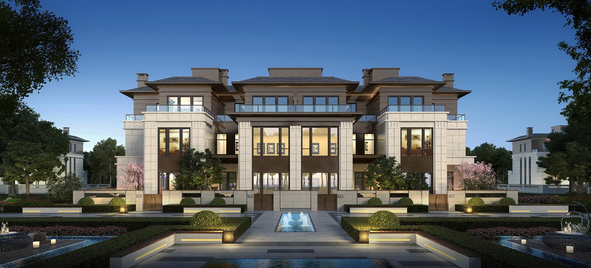 把家安在4A级景区里,海兰云天新品别墅加推引轰动