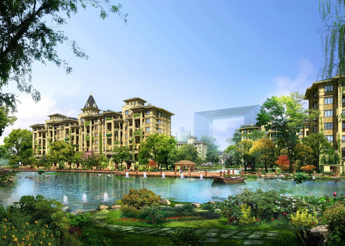 天山熙湖三期:开发区名企低密湖景盘测评