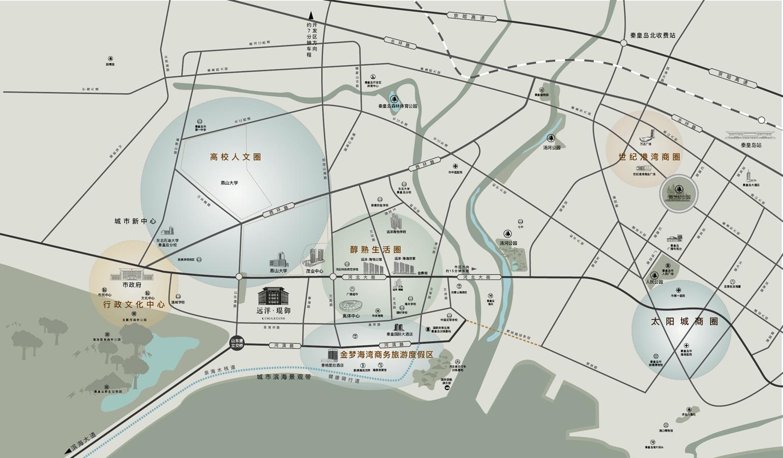 """秦皇岛城市发展""""一路向西"""",四大优势撑起价值高地"""