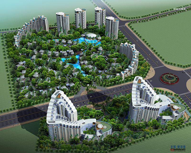 半岛海洋国际项目B区在售:精装公寓 均价为14300元/平米