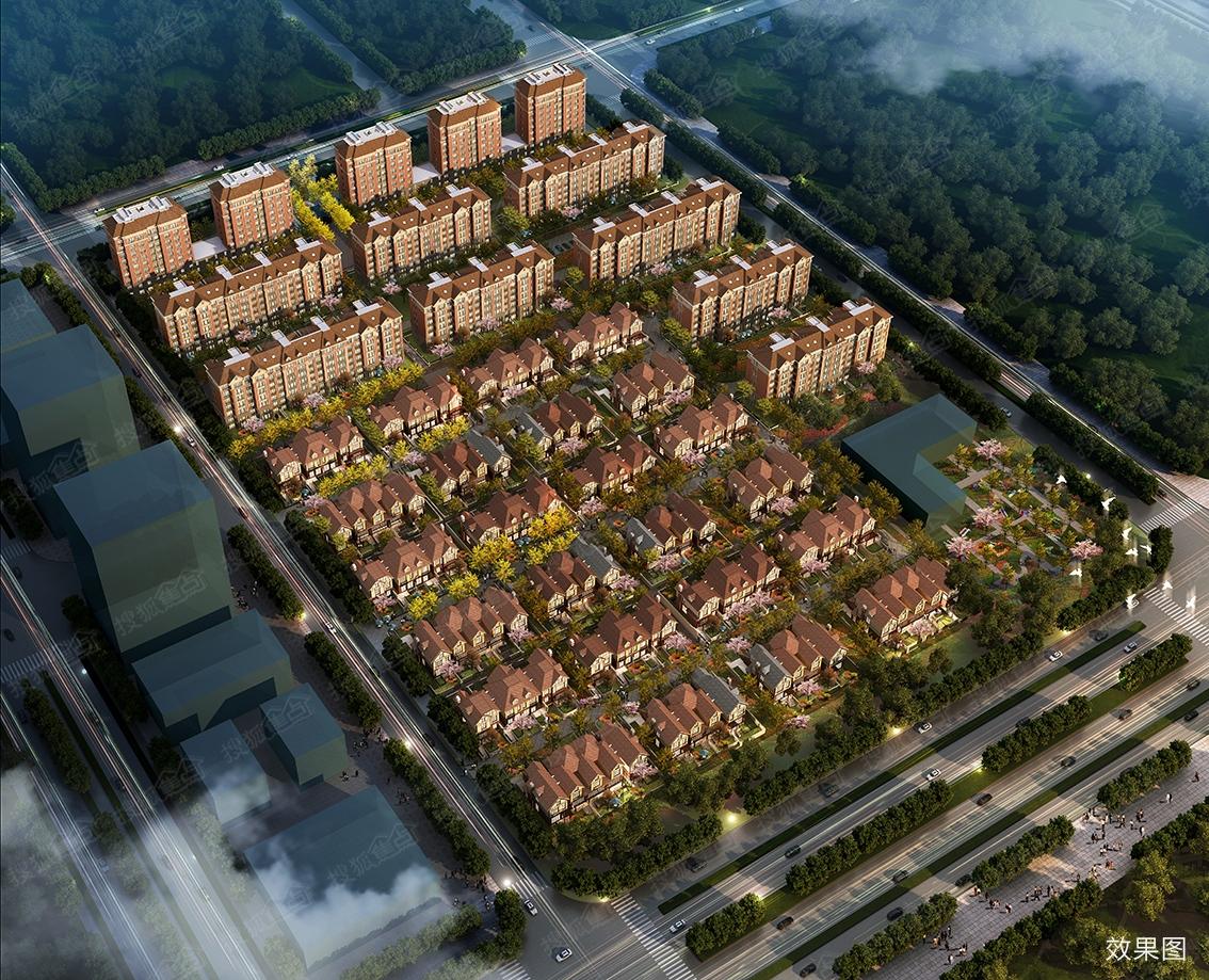 爱琴海商业综合体将落户滨海 区域受益项目别墅均价27000
