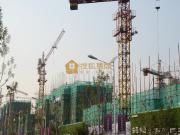 东岳·熙园项目现已盖到地上6层左右 商业项目现已开始动工