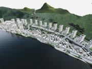 月亮湾地块规划公示,拟建低层徽派民居、商业建筑群和24栋住宅