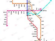 昆明地铁6号线二期即将开通 全线沿线楼盘不到5个