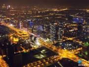 俯瞰河西CBD,鱼嘴G97代言南京新高度