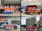 国际护士节 ▏中国铁建国际城献花白衣天使