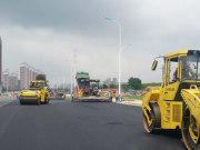 莱山多条道路建设全面推进 中心城区形象再提升