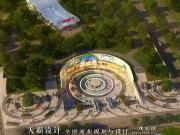 湖南岳阳千亩湖商业广场,设计概念来源于水母,绚丽唯美!