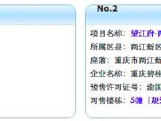 8月17日主城11项目获预售证 御龙天峰推新盘
