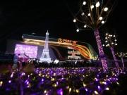 11月24日,滨海不眠夜,城市中心繁华初现
