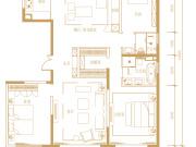西长安街上168㎡,为何只能是3室?