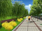 高新区构建绿色海绵体系 城区绿化再提升