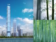 """震撼!合肥大湖之滨在建世界之最的""""竹节""""楼"""