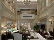 沁春园叠墅-248平方米-美式新古典风格