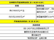 本周末仅吴江2盘推新 高层3房单价9800元/㎡起