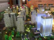 汉德九洲城3月工程进度:二期瑞园初露芳容 户型经济实用