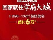 【美的·中央广场】首付6万起