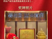 恭喜碧桂园·城央首府斩获2018广西地产金砖大奖!