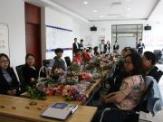 绚丽母亲节浦发银行吉林分行客户插花体验活动完满成功