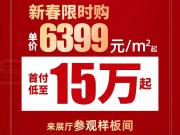 衣锦还乡,当住金宸府!新春限时购,单价6399元/㎡起!