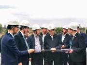 银川市委常委、常务副市长李鸿儒一行莅临碧桂园山海湾项目调研