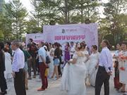 【高能预警,单身人群撤退】这是小编见过一场最特别的婚礼了