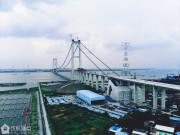 震撼! 虎门二桥高清航拍, 俯瞰珠江东西两岸!