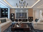 天房檀珑湾170平米现代简约风格装修案例