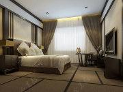 酷堡酒店现代中式装修 打造典雅时尚的休闲之地----[四合茗