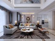 龙湖春江郦城三室两厅现代风格装修效果图
